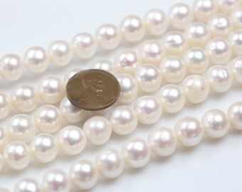 10-11mm Round Freshwater Pearl High Quality Round Freshwater Pearl