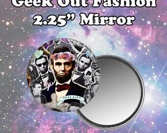 Abe Lincoln Pocket Mirror