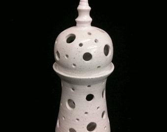 Stoneware Nightlight holder