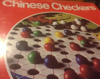 Pressman 1992 Chinese Checkers Game *Sealed* Dragon Graphics On Board