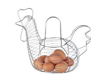 Egg container door stainless steel