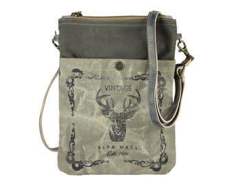 Sunsa woman crossbody bag canvas bag shoulder bag Artno.: 53025