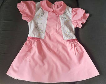 Baby Dress - Baby Girl Clothes - Embroidered dress