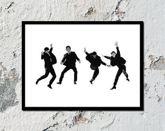 """The Beatles """"Help!"""" high quality poster (A5, A4, A3)"""