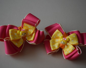 Kanzashi hair bubble