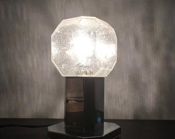 Art Deco Glass Table Lamp * FREE UK POSTAGE