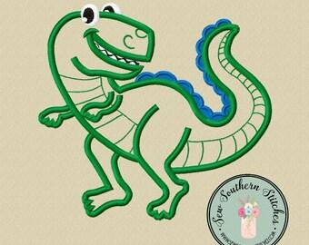 Dino Applique Design ~ Instant Download