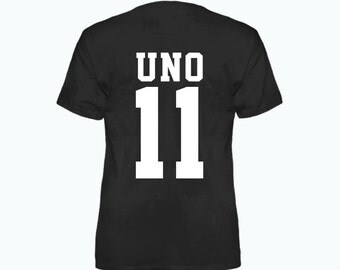 Uno 11 Nanbaka Inspired Anime T-Shirt