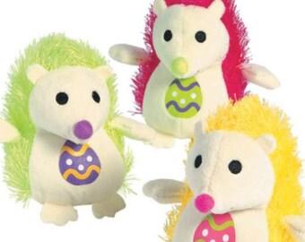 "5"" Stuffed Easter Hedgehog"