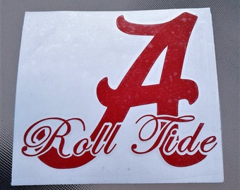 Alabama yeti decal etsy for Alabama football mural