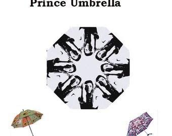 Prince Umbrella, Autumn, winter, Prince, umbrella, 70s, 80s music, fashion, glam rock