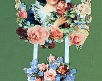 Victorian Ribbon Birthday Card