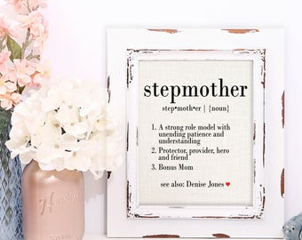Stepmother Gifts, Definition of Stepmother