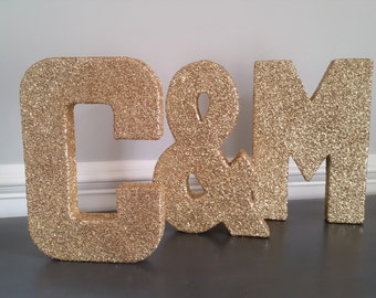 initial signs letter wedding decor birthday party decor birthday sign canvas letter large wall letters hanging letter gold decor