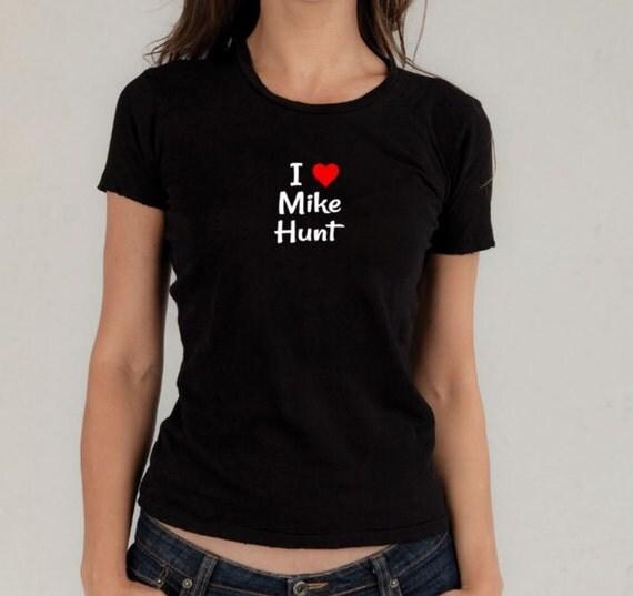 Mature pun t-shirt, Mike Hunt, my c*nt, profanity puns, sarcasm, name puns, graphic tee, mature tshirt, punny, i love my c*nt, c*nt, rude T