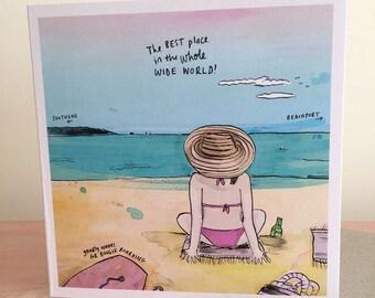 Greeting Card - Summer