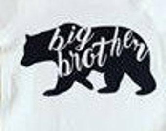 Big Brother Bear Shirt