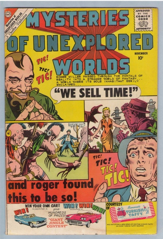 Mysteries of Unexplored Worlds 21 Nov 1960 VG (4.0)