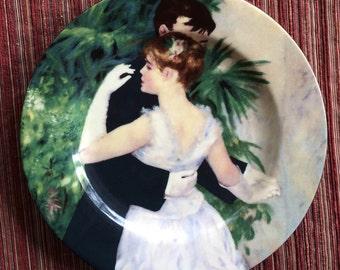 Renoir Plate,Impressionist Art Plate,Renoir Gift,Renoir Dance,Renoir Wedding,Renoir Collectible,Renoir Romantic,Romantic Trinket Dish,