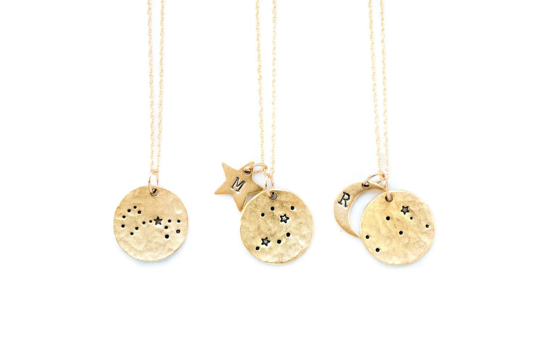 Zodiac Jewelry, Constellation Necklace, Zodiac Necklace,Celestial Jewelry, Personalized Necklace,Star