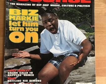 The Source Magazine 1993 Biz Markie 2Pac John Singleton