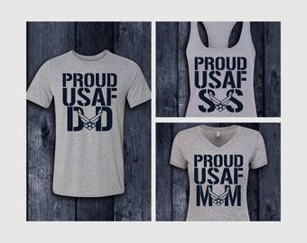 Proud USAF Family Shirts