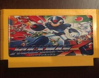 Rockman X Custom Famicom 8bit Game. Mega Man
