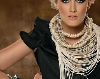 Pink fringe Silk Scarf,Silk wrap,White tassel scarf-embroidered kashmiri Scarf,Head scarf,Hijab,Holiday gift wedding accessory