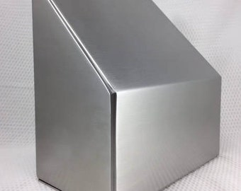 The Ascent Cremation Urn/Cremation Urns/Funeral Urn/pet Urns/Stainless Steel Urn/Urns for ashes/Made in USA/handmade urns/handcrafted urns