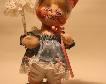 Vintage Annalee Bunny Doll