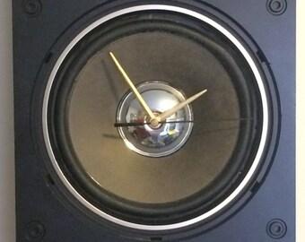 Stereo Speaker Clock - Conclocktion