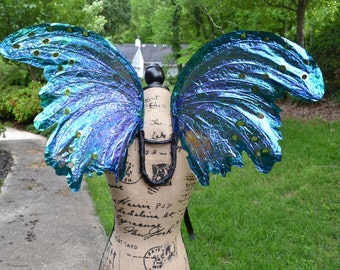 Fairy Wings for Adult in Iridescent Blue