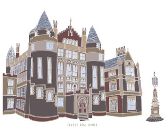 Teviot Row House Edinburgh Print