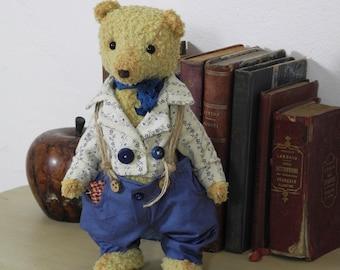 OOAK, artist bears, teddy bear, unique piece, EUGENE