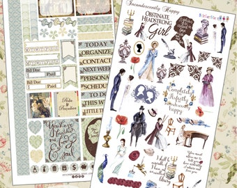 Incandescently Happy Planner Stickers
