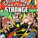 Doctor Strange and Spiderman in Marvel Team Up 21 comic book. Dr, Vintage birthday party gift, Bronze Age. 1974 Marvel Comics in VF- (7.5)