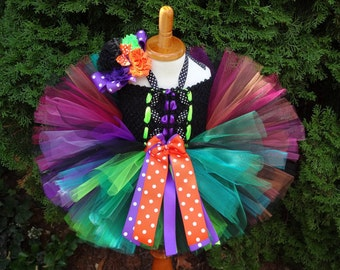 Halloween Costume, Witch Dress, Witch Tutu Dress, Baby Halloween Outfit, Toddler Witch Costumer, Infant Costume, Witch Outfit, Photoprop