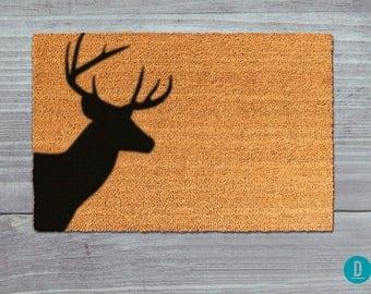 deer doormat deer door mat deer welcome mat doormat door mat