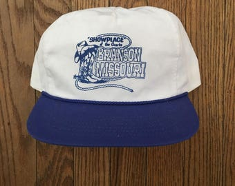 Vintage Branson Missouri Snapback Hat Baseball Cap
