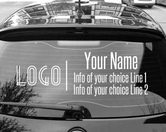 Fashion consultant, car decal, advertising decals, fashion decal, marketing tools, approved fonts