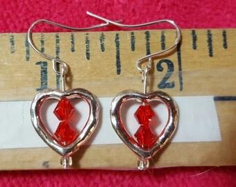 Valentine's Day Heart Earrings