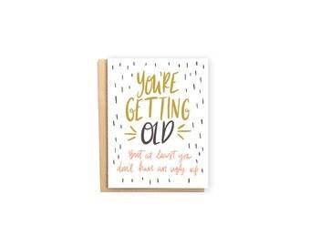 Ugly Wife- Birthday Card, Husband Card, Love Card, Getting Old