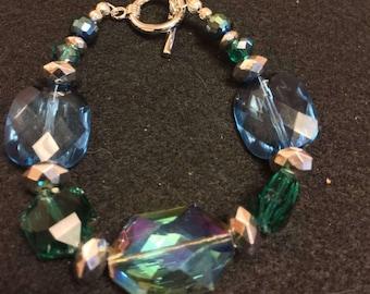Handmade Turquoise Colors Bracelet