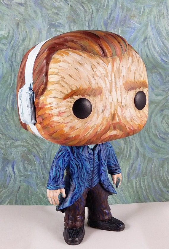 Vincent Van Gogh Custom Funko Pop Vinyl Figurine Art Toy With