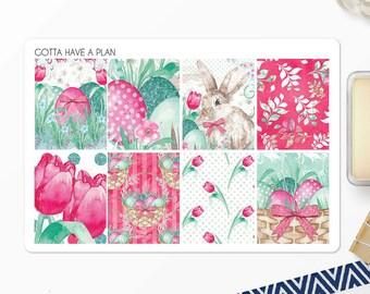 Planner Stickers Easter Basket Full Box for Erin Condren, Happy Planner, Filofax, Scrapbooking