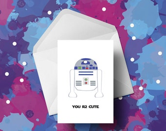 Star Wars - R2D2 - Valentines Card