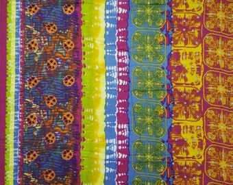 """Designer Fabric, Abstract Print, Dress Material, Sewing Craft, Apparel fabric, Home Decor, 41"""" Inch Cotton Fabric By The Yard ZBC5851"""