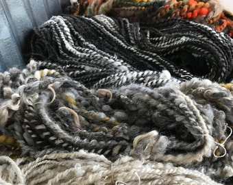 Farm to Fiber. Natural beautiful Art Yarns for Knitting, Crochet or Weaving.