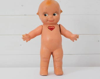 "Antique Bisque Kewpie Doll 11"" by Rose O'Neill"