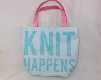 Extra Large Tote // Jillian Bag // Knit Happens